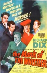 The Mark of the Whistler 1944 DVD - Richard Dix / Janis Carter
